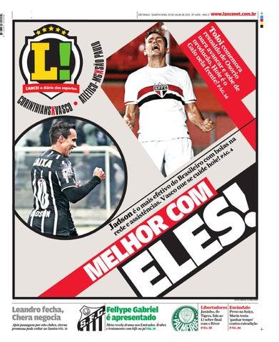 Jornal O Lance by lotequeiros - issuu 6bf14358b8a1e