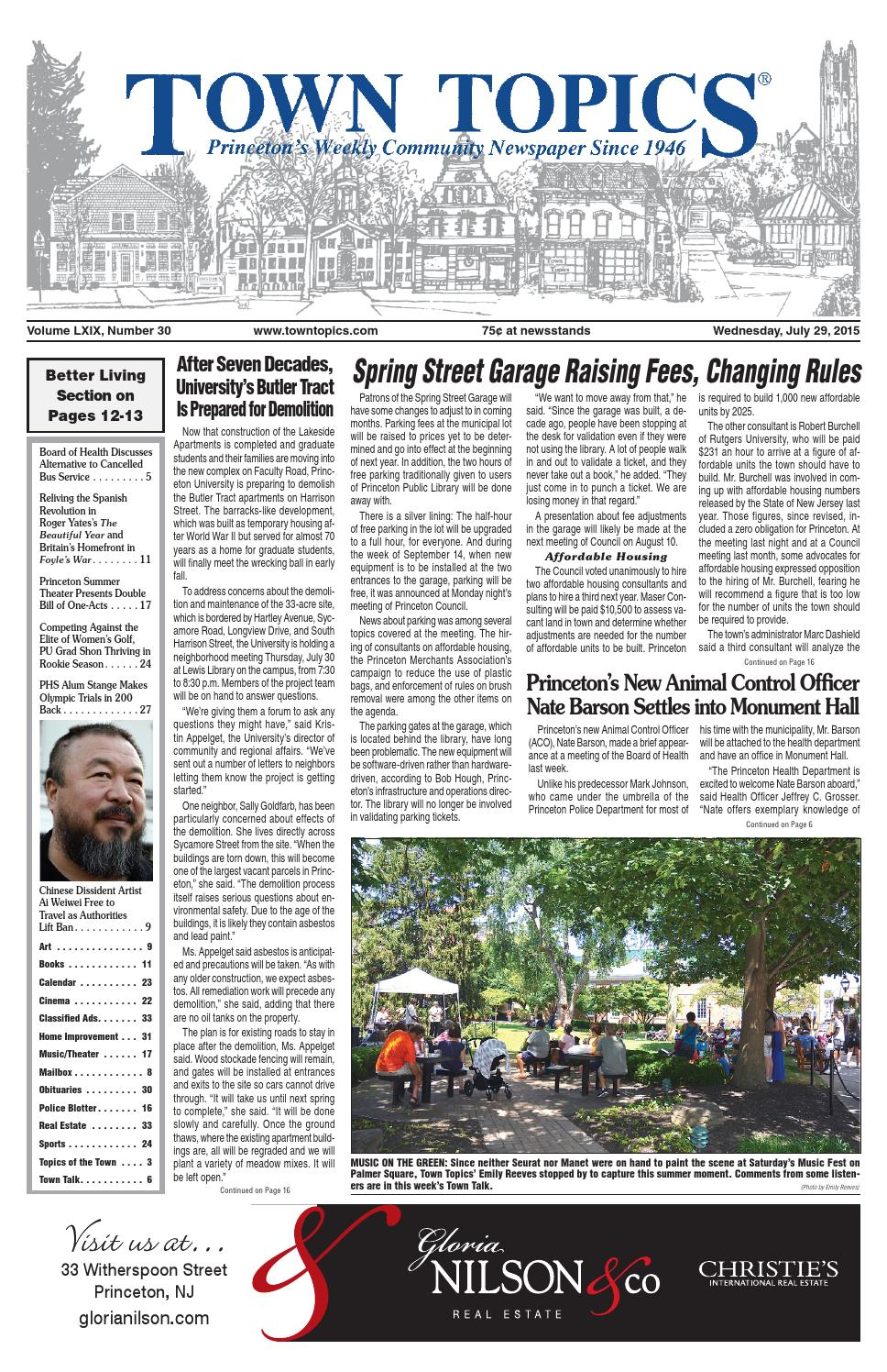 Town Topics Newspaper July 29, 2015 by Witherspoon Media Group - issuu
