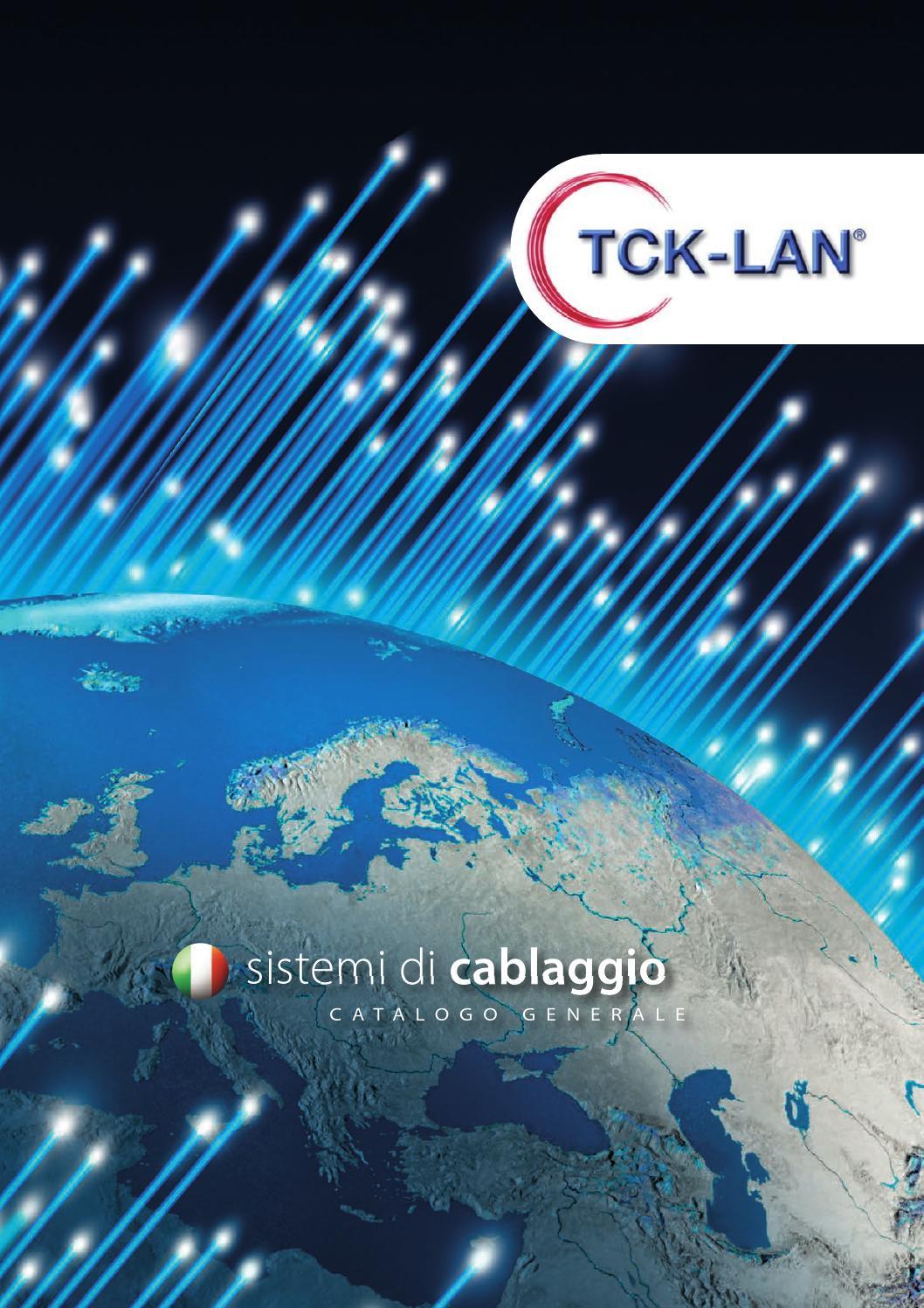 Schema Cablaggio Cavo Lan : Tck lan catalogo by digital media issuu