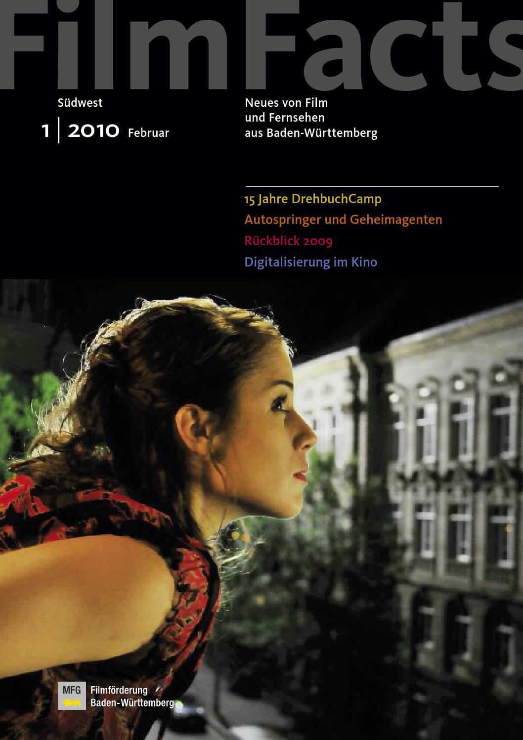FilmFacts Südwest Ausgabe 1 | 2010 by MFG Filmförderung issuu