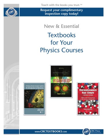 Physics by crc press issuu page 1 fandeluxe Images