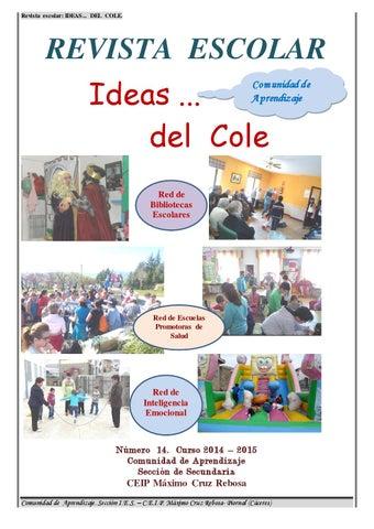 Revista escolar Piornal Ideas del Cole...1 by Ana Mª Moreno Vicente ...