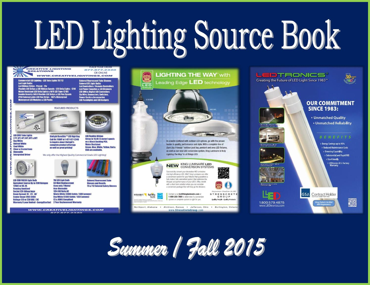 Led Lighting Source Book By Federal Buyers Guide Inc Issuu Meters Scanners Circuit Breaker Finders Sperry Finder