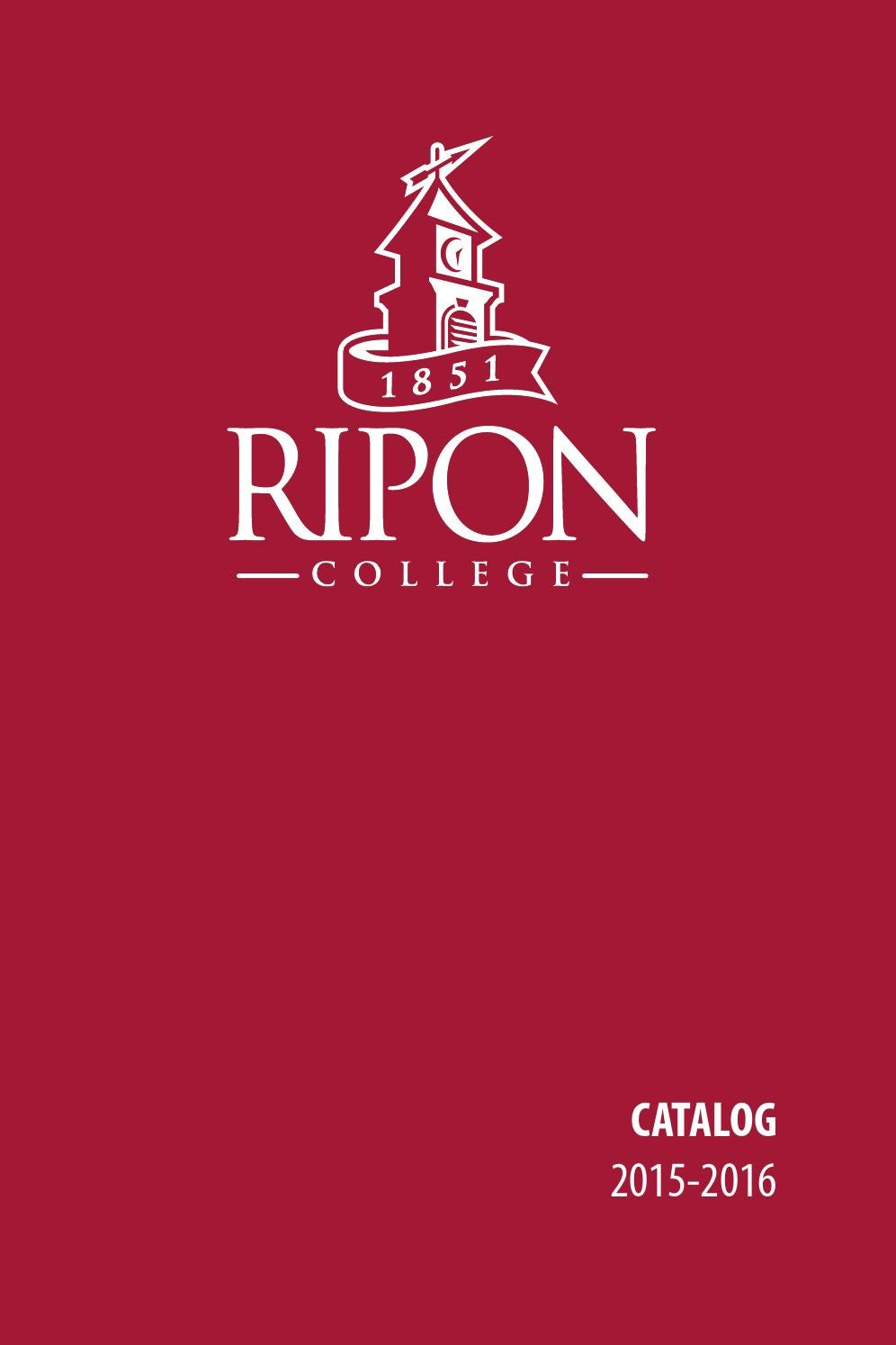Ripon College Catalog 2015-16 by Ripon College - issuu