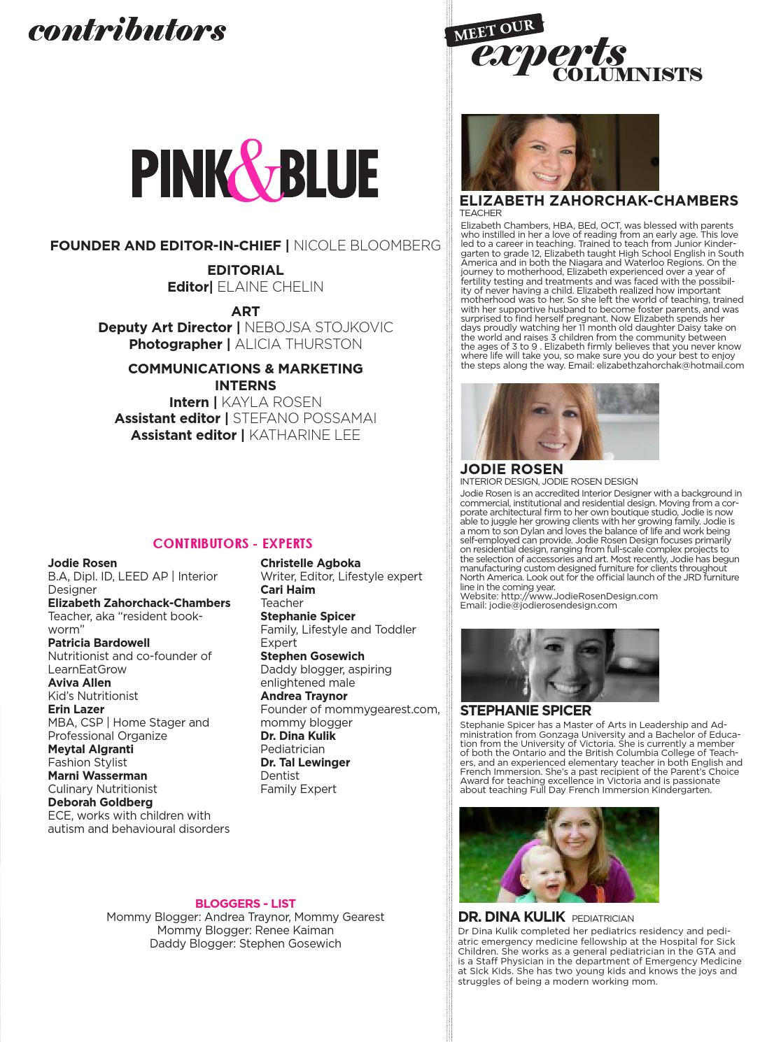 Issue 4: Back to School 2013 by Pink & Blue Magazine - issuu