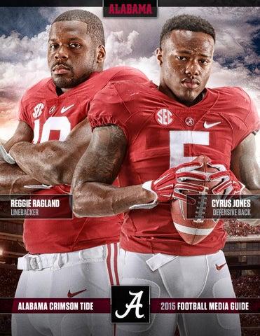 1ace530cd 2015 Football Media Guide by Alabama Crimson Tide - issuu