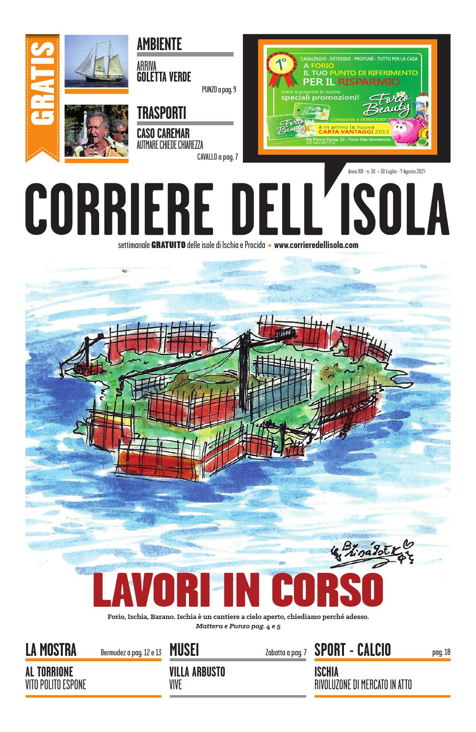 Corriere Dellisola N 30 2015 By Corriere Dellisola Issuu