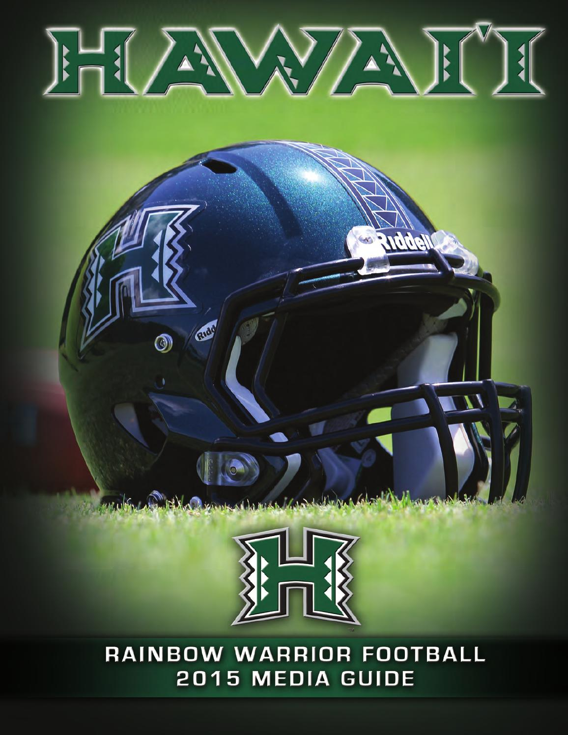 2015 Rainbow Warrior Football Media Guide by hawaiiathletics1  hawaiiathletics1 - issuu 19d231f84