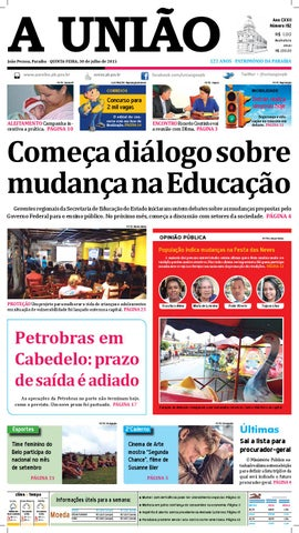 b73c1a3bdaf Jornal A União - 30 07 2015 by Jornal A União - issuu