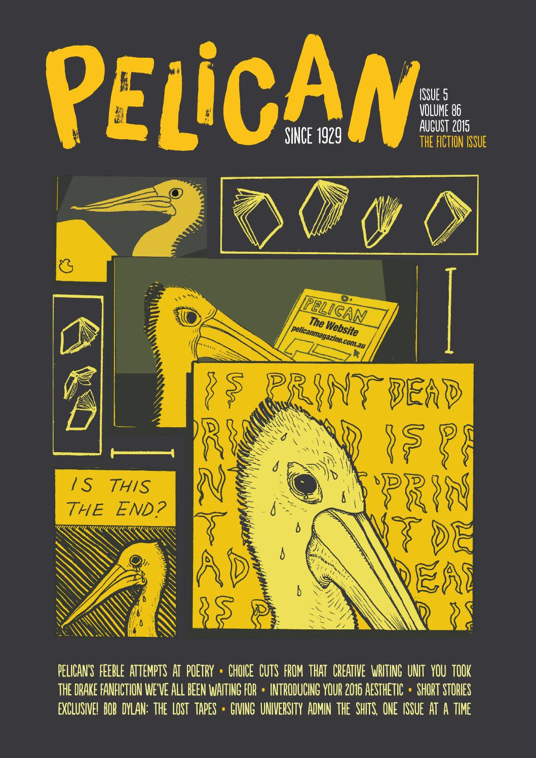 Pelican Edition 5, Volume 86 by UWA Student Guild - issuu