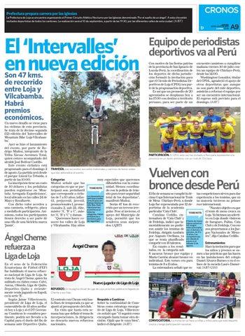 Diario La Hora Loja 30 de Julio 2015 by Diario La Hora Ecuador - issuu 6b25276a20