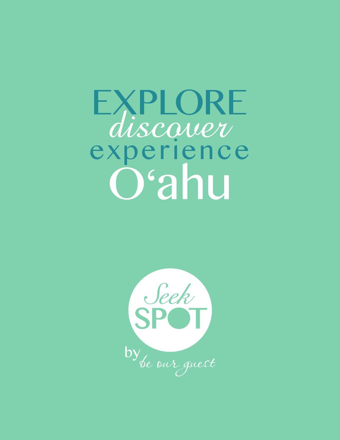 Seekspot 2015 Oahu Guide Book by Seek Spot Guide to Oahu - issuu