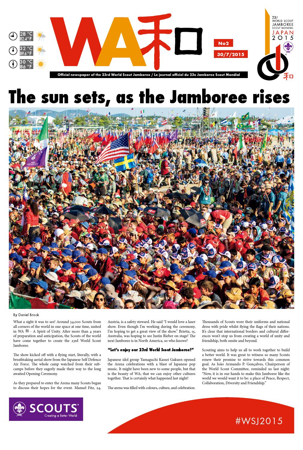 the world organization of the scout The 2019 jamboree, an official program of the world organization of the scout movement,.