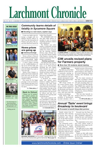 Lc Issue 08 15 100 By Larchmont Chronicle Issuu