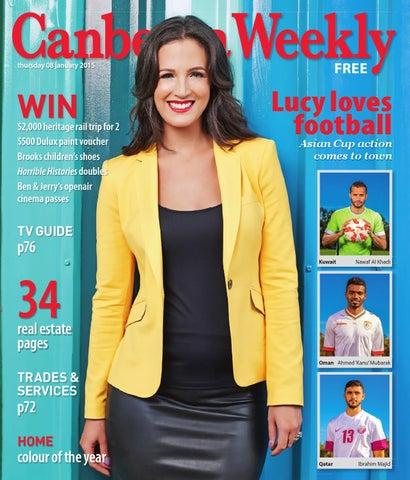 288e6c71f4cb 08 January 2015 by Canberra Weekly Magazine - issuu