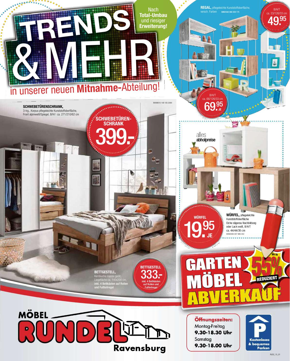 moebel rundel 1 kw32 by russmedia digital gmbh issuu. Black Bedroom Furniture Sets. Home Design Ideas
