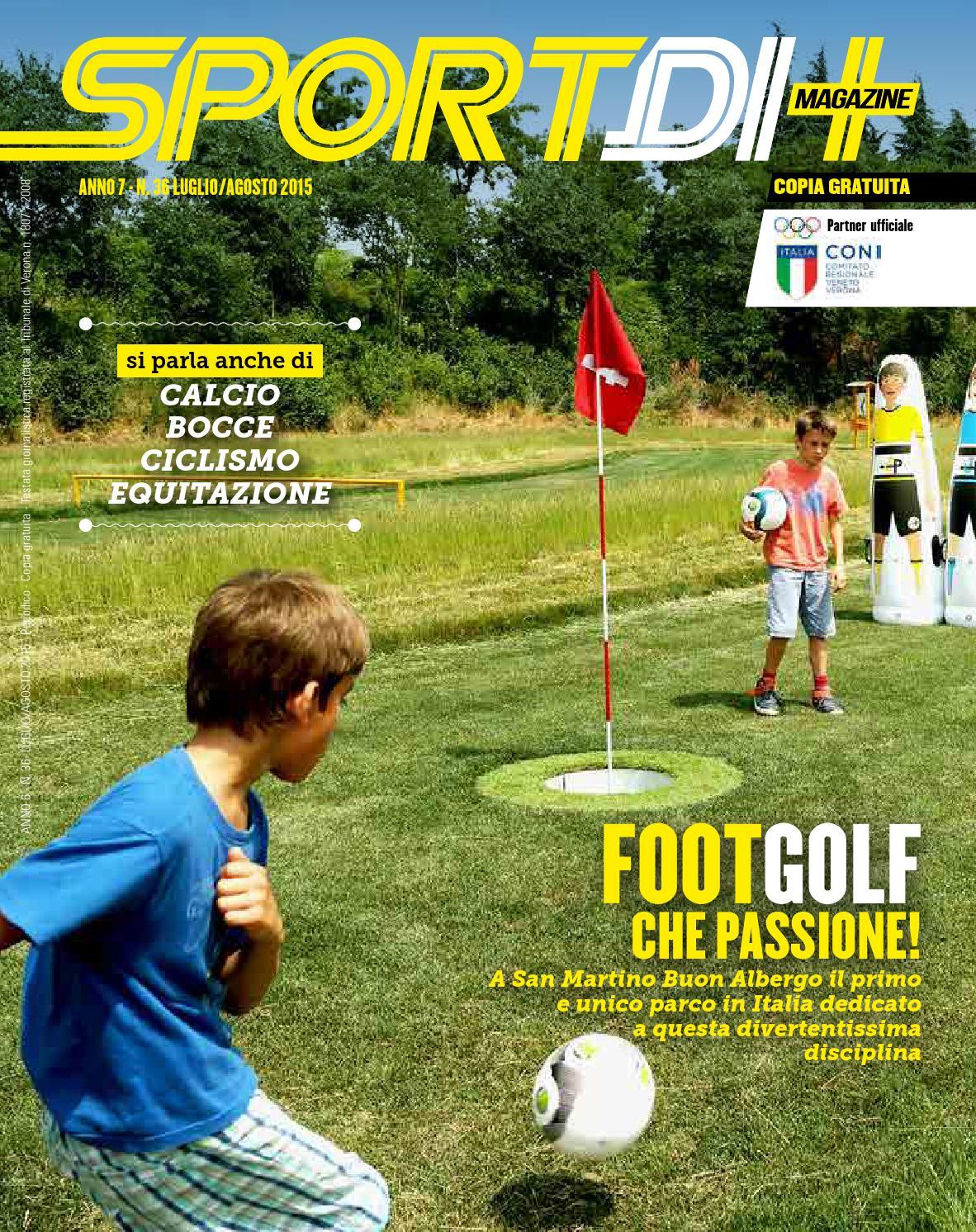 Sd Magazine 362015 By Sportdi Magazine Verona Issuu