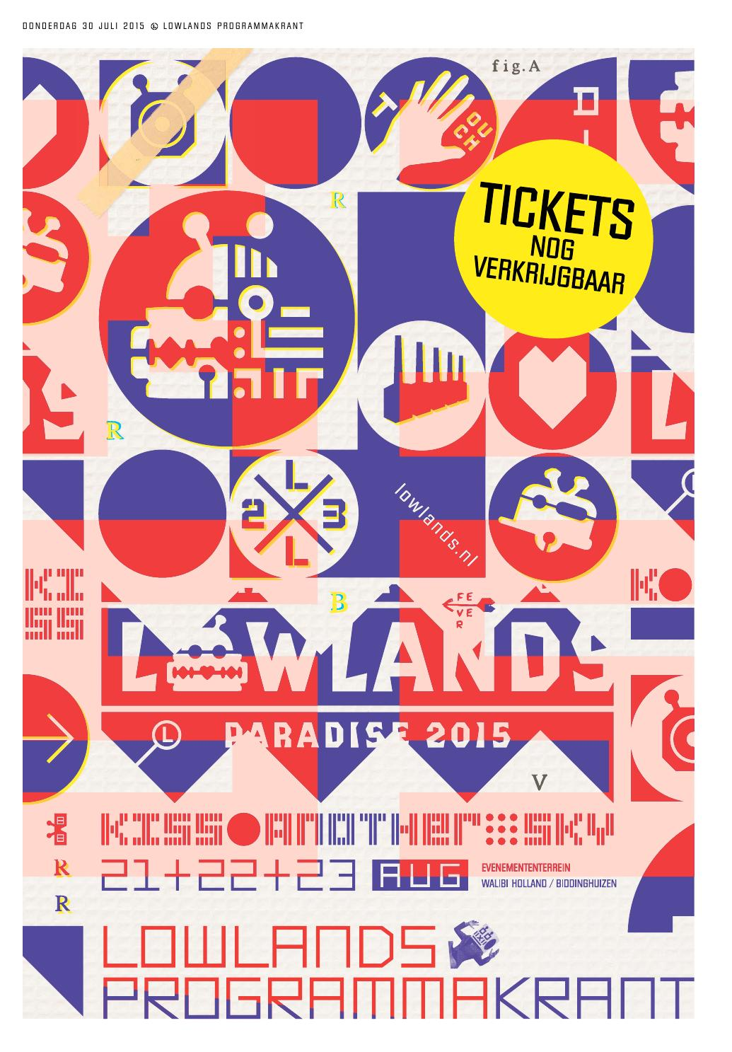 24d9fb86c70 LOWLANDS PROGRAMMAKRANT 2015 by A Campingflight to Lowlands Paradise - issuu