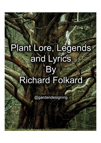 Plant lore legends and lyrics by richard folkard by garden page 1 stopboris Image collections