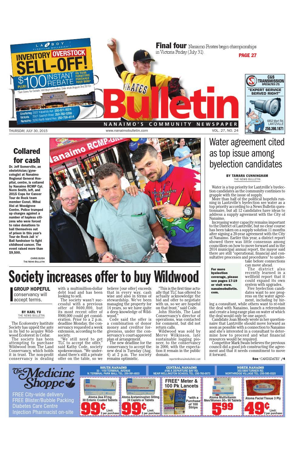 Bathmaster Nanaimo nanaimo news bulletin, july 30, 2015black press - issuu