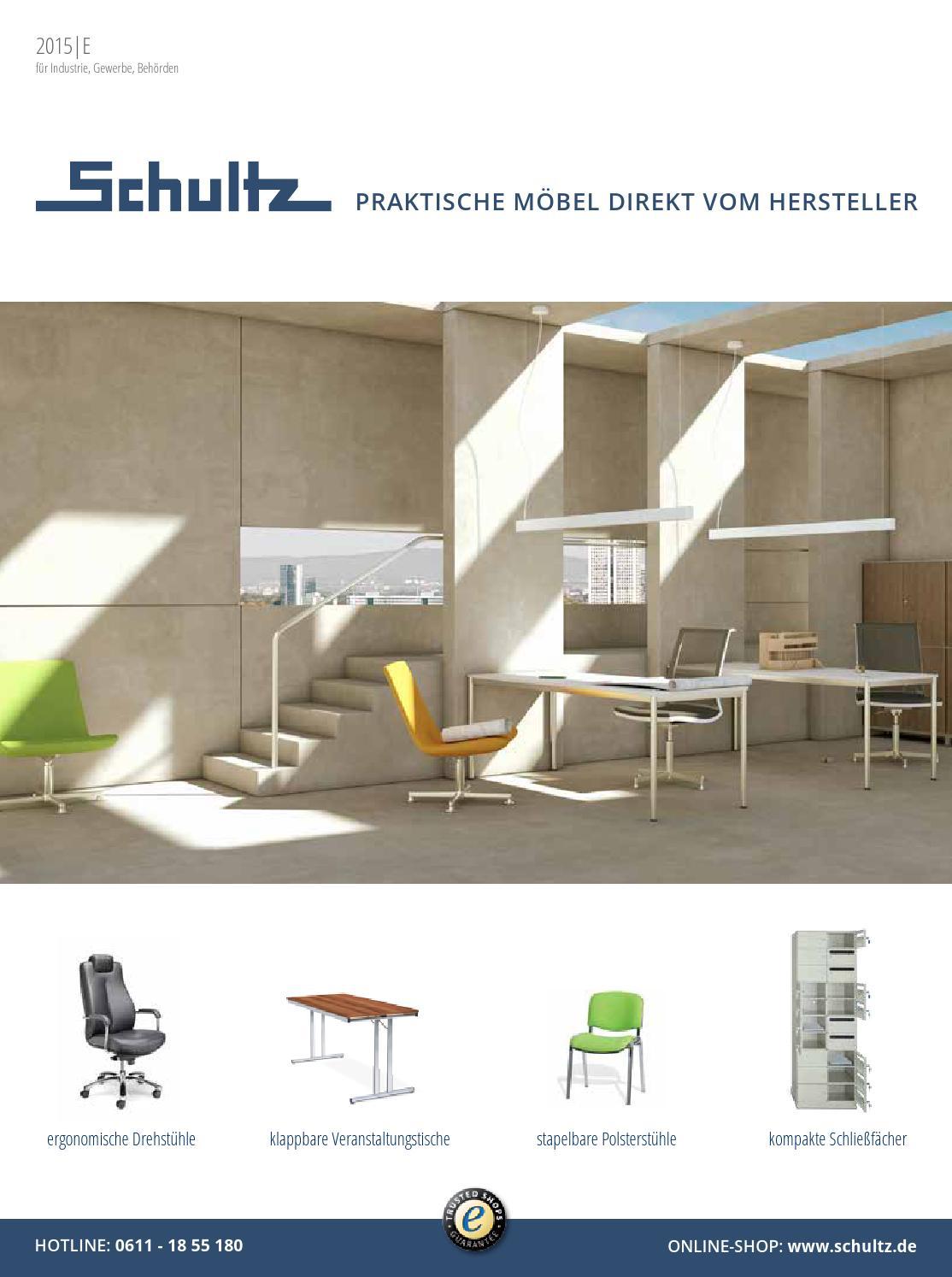 Schultz Büromöbel & Betriebseinrichtungen - Katalog 2015/16 by ...