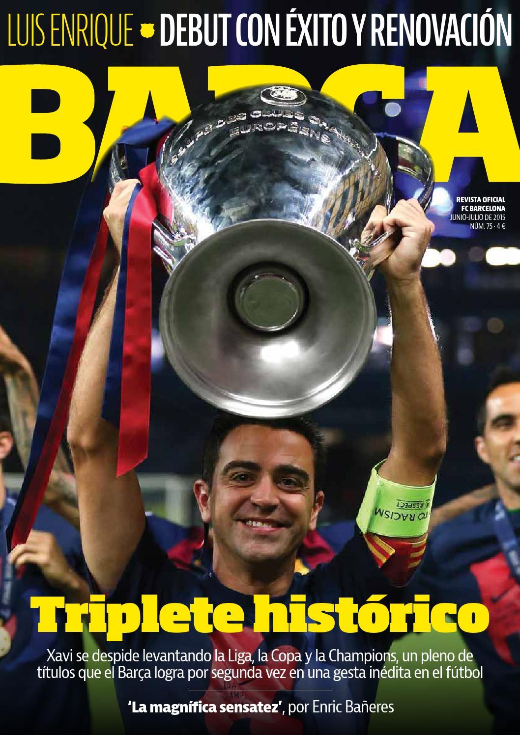 REVISTA BARÇA - Nº75 - CASTELLANO by FC Barcelona - issuu bad8ecb714daa