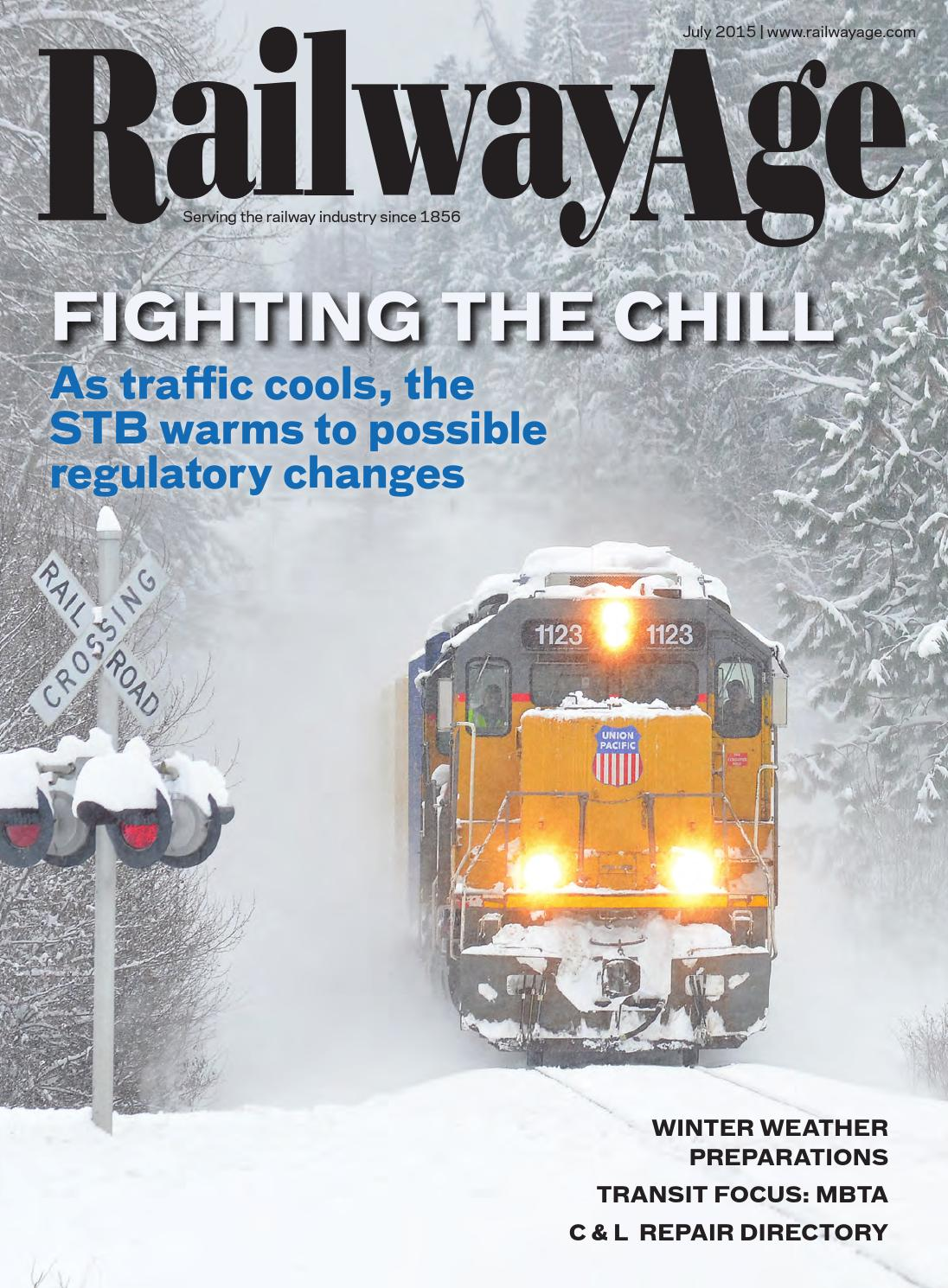 July 2015 Railway Age By Issuu Rejected Circuit Boards With Lpi Direct Recycling Inc