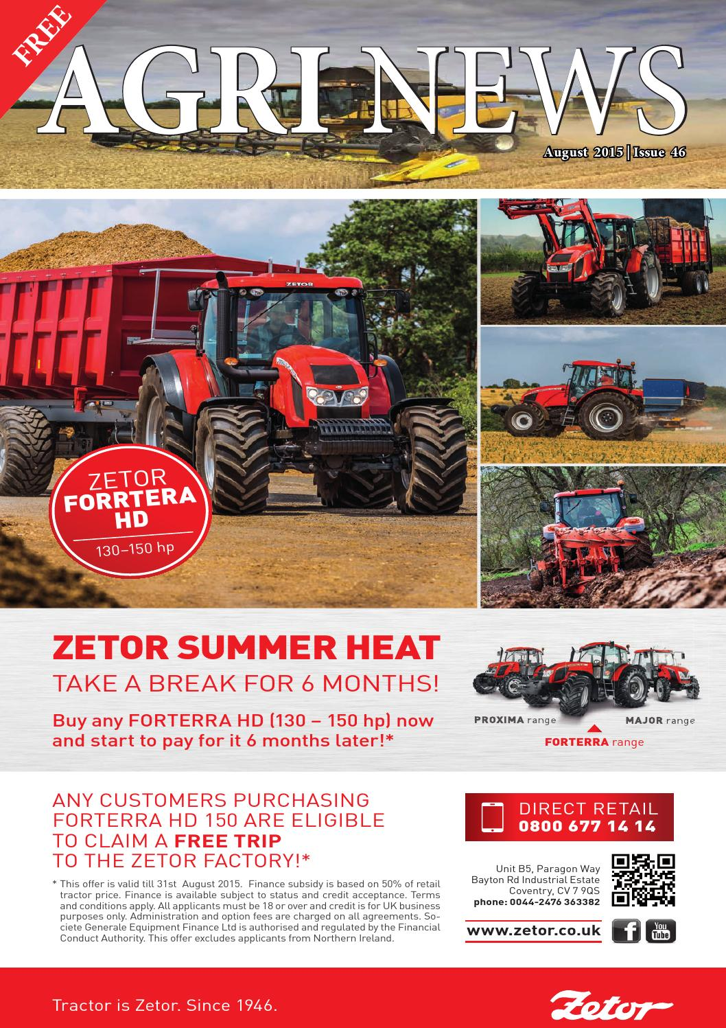 Agri News August 2015 by Victoria Smith - issuu