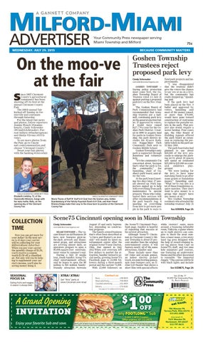 2308db6207 Milford miami advertiser 072915 by Enquirer Media - issuu