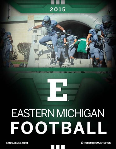 2015 EMU Football Digital Guide by Eastern Michigan University ... 6367db6b6