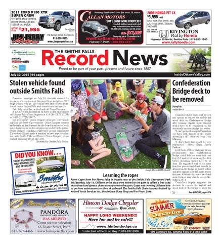 Smithsfalls073015 by metroland east smiths falls record news issuu page 1 sciox Image collections