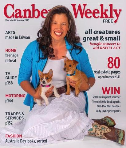 7a9b22c13cf3 22 January 2015 by Canberra Weekly Magazine - issuu