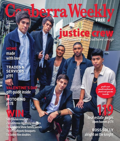 ff854b384ca97 5 February 2015 by Canberra Weekly Magazine - issuu