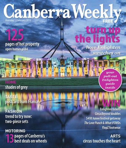 12 february 2015 by canberra weekly magazine issuu page 1 fandeluxe Image collections