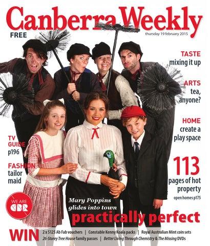 0fa16176a7 19 February 2015 by Canberra Weekly Magazine - issuu