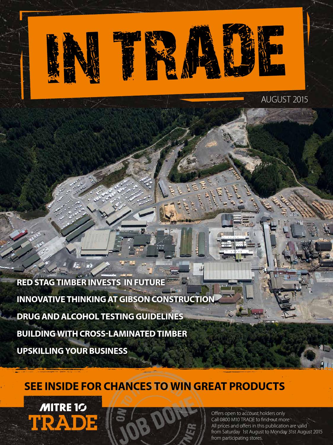 mitre 10 in trade magazine august 2015 by draftfcb issuu