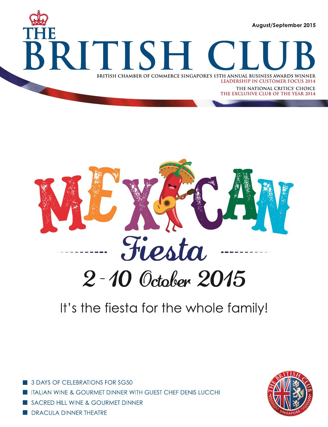 Aug/Sept 2015 by The British Club - issuu