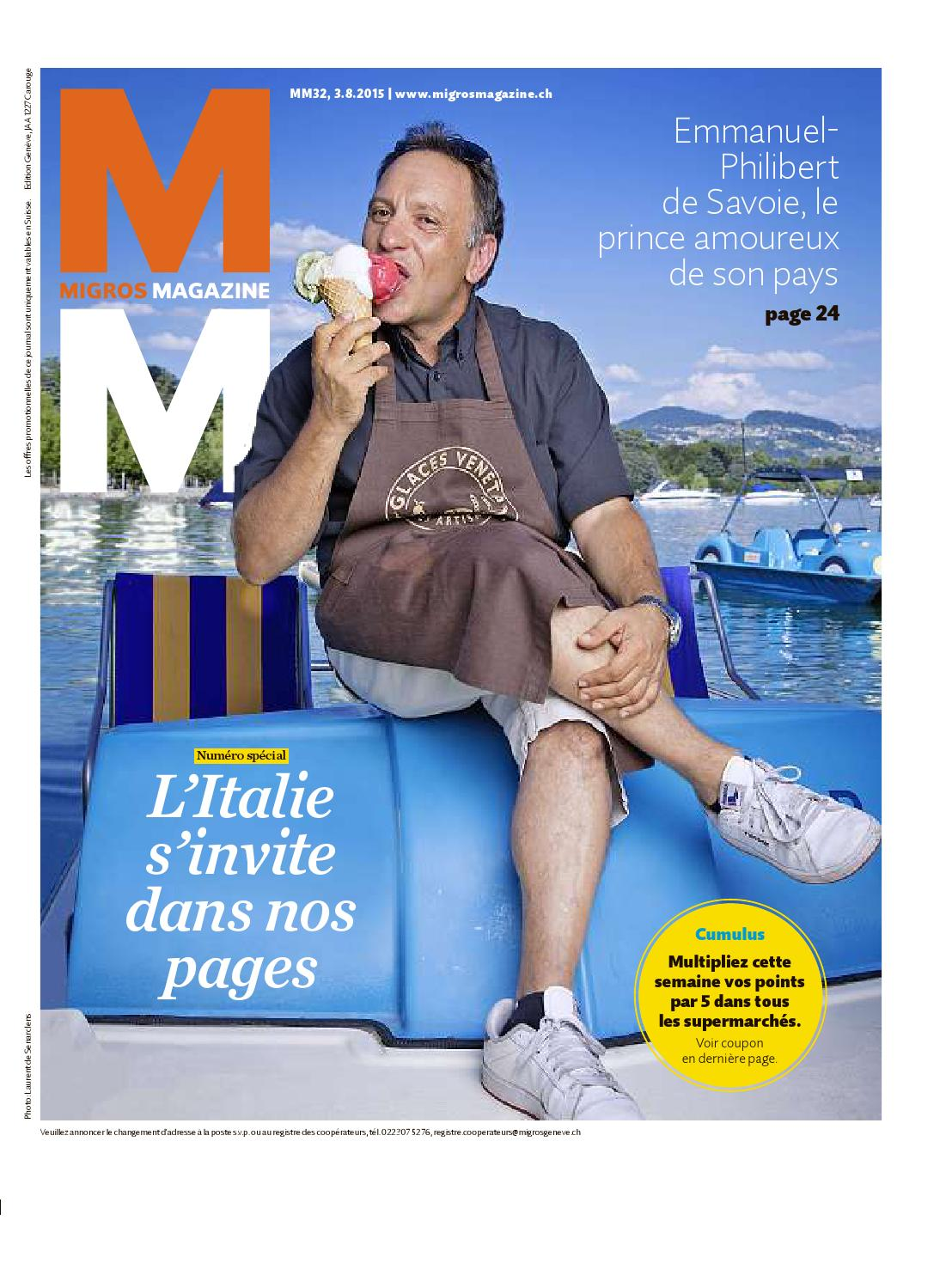migros magazin 32 2015 f ge by migrosgenossenschaftsbund