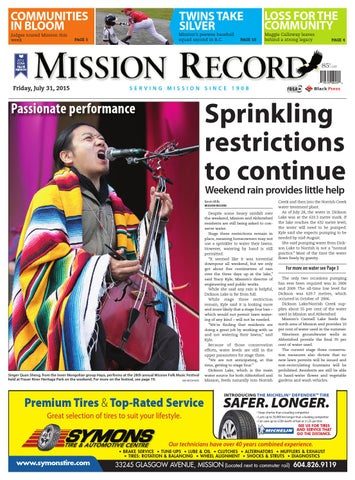 Mission city record july 31 2015 by black press issuu page 1 sciox Choice Image