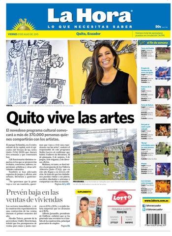 Quito 31 julio 2015 by Diario La Hora Ecuador - issuu 11801a02b287