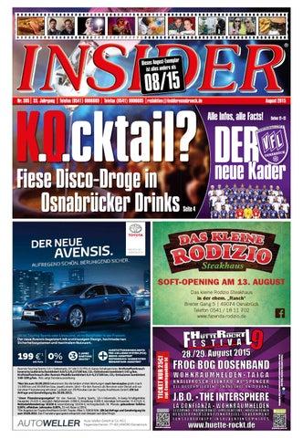 Freizeitland Hasbergen Weihnachtsfeier.Insider Osnabrück No 384 August 2015 By Redaktions Leitung