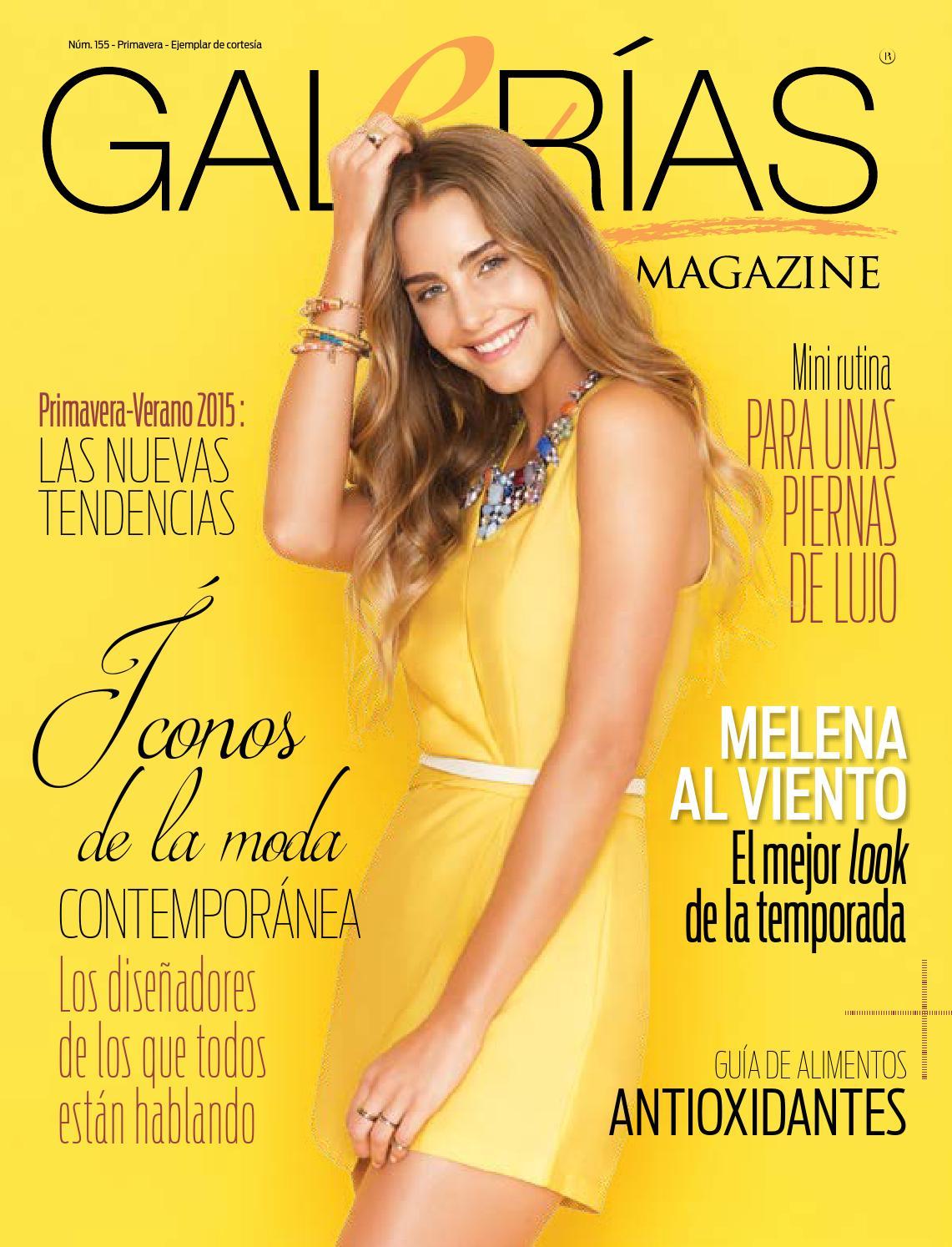 727ffd50b16e Gm 155 Primavera 2015 by Galerías Magazine - issuu