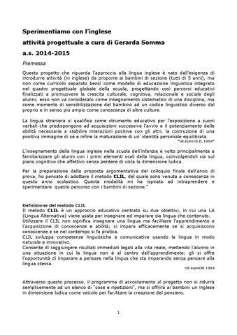 Sperimentiamo con l'Inglese by Istituto Comprensivo Gambolò