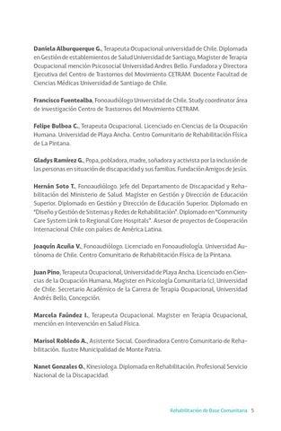 Rehabilitación de Base Comunitaria - Publicación U. Andrés Bello by ...