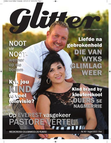 "Cover of ""Glitter august 2015"""