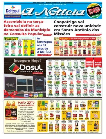 Edição de 1º e 2 de agosto de 2015 by Jornal A Notícia - issuu 8c1cf6f7b5d