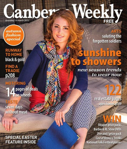 9140b05c4c1 19 March 2015 by Canberra Weekly Magazine - issuu