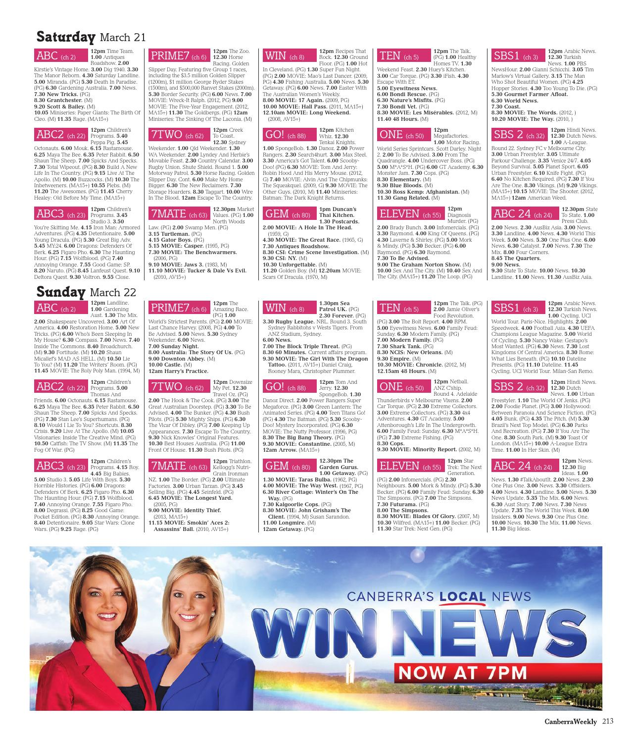 be7d4157d 19 March 2015 by Canberra Weekly Magazine - issuu