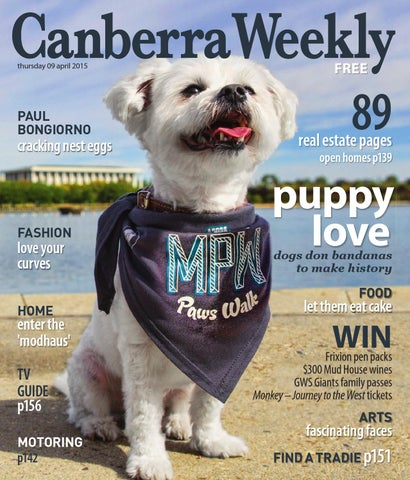 67d4a2168474 9 April 2015 by Canberra Weekly Magazine - issuu