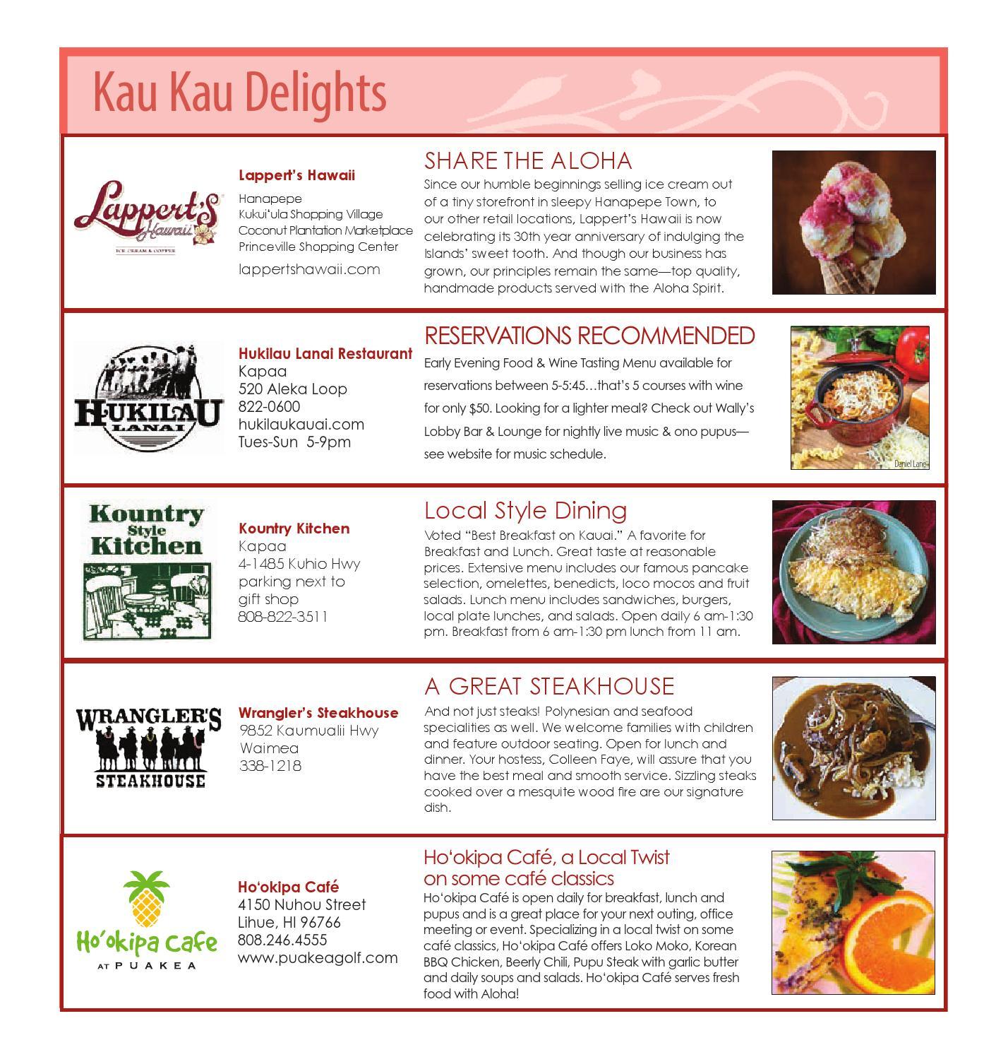 For Kauai Magazine August 2015 by For Kauai - issuu
